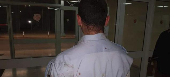 Ο τραυματίας αστυνομικός
