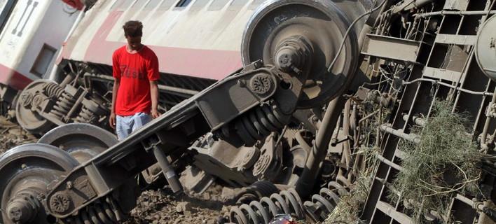 Εκτροχιασμός τρένου στην Αίγυπτο/ Φωτογραφία egypttoday