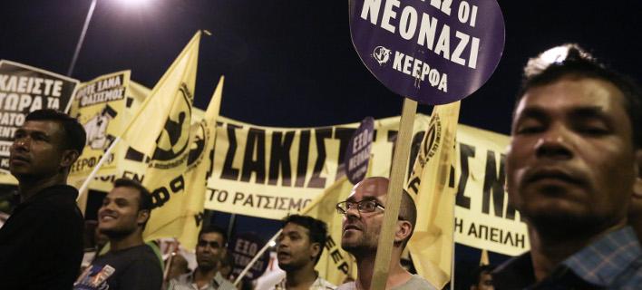 Αντιφασιστικό συλλαλητήριο στις 15 Σεπτεμβρίου /Φωτογραφία intime news