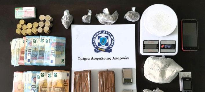 Σύλληψη για διακίνηση ναρκωτικών/ Φωτογραφία astynomia.gr
