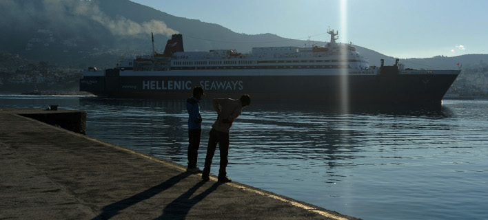 Λιμάνι Μυτιλήνης/ Φωτογραφία intime news