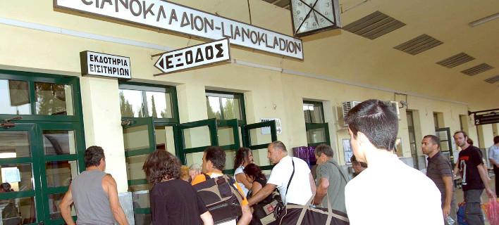 Στη γραμμή Αθήνα-Θεσσαλονίκη, φωτογραφία: eurokinissi
