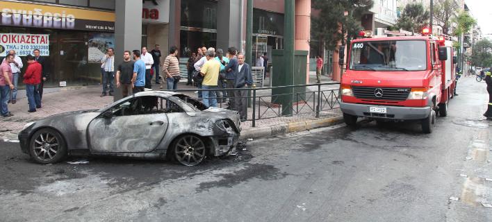 Καμμένα αυτοκίνητα, φωτογραφία αρχείου, eurokinissi