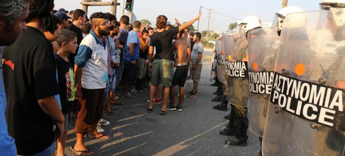 Περίπου 100 με 150 άτομα συνεπλάκησαν μεταξύ τους, φωτογραφία: intimenews