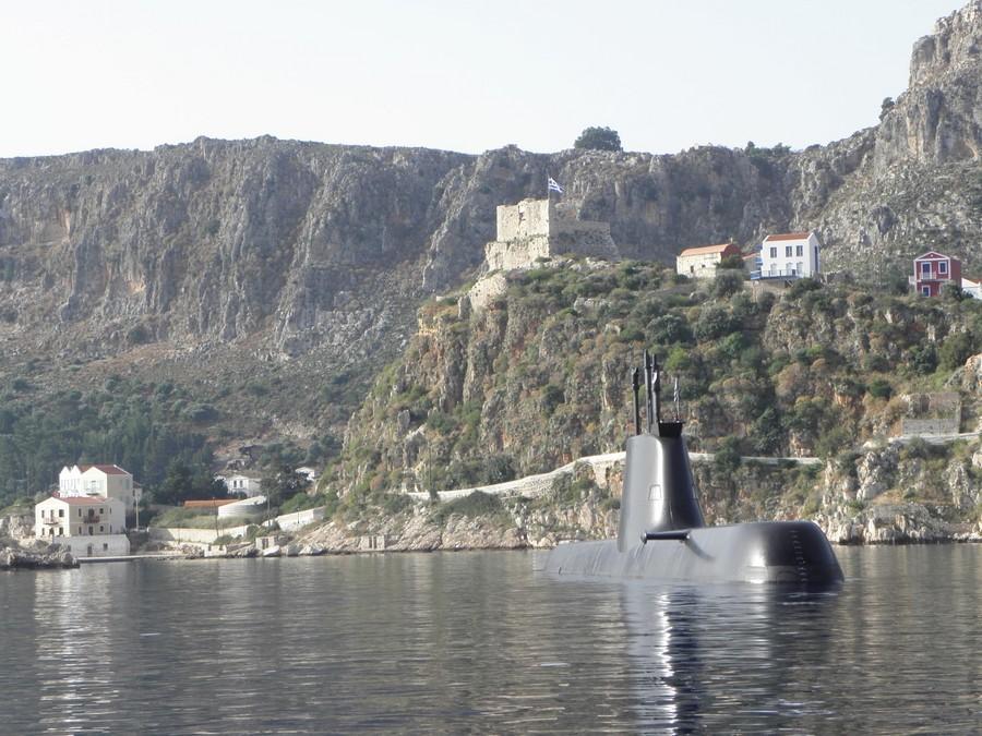 Το υποβρύχιο «Ματρώζος» επισκέφθηκε το Καστελόριζο και έκλεψε τις  εντυπώσεις [εικόνες] | ΕΛΛΑΔΑ | iefimerida.gr