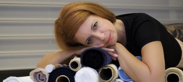 Η σχεδιάστρια μόδας Μαρία Διαμάντη
