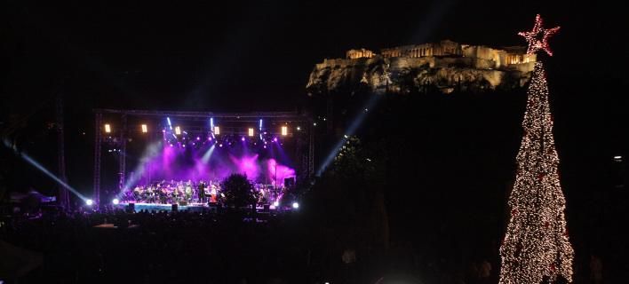 Με φόντο την Ακρόπολη, φωτογραφία: eurokinissi