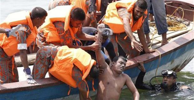 Ναυτική τραγωδία στο Μπαγκλαντές: Ανατράπηκε πλοίο με 100 επιβάτες