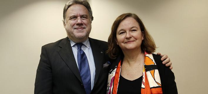 Τετ α τετ Κατρούγκαλου με τη Γαλλίδα υπουργό Ευρωπαϊκών Υποθέσεων