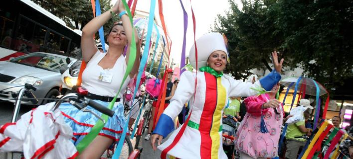 Μαζι τους για εμφανίσεις κινεζικό χορευτικό συγκρότημα, φωτογραφία: eurokinissi/ΤΡΥΨΑΝΗ ΦΑΝΗ