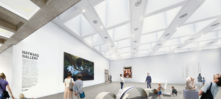 Χέιγορντ Γκάλερι, Λονδίνο, φωτογραφία: hayward-gallery