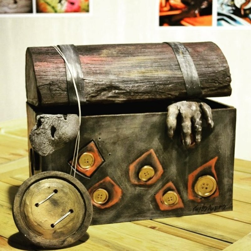 «Στοιχειωμένο κουτί» (Εργοστάσιο σοκολάτας)