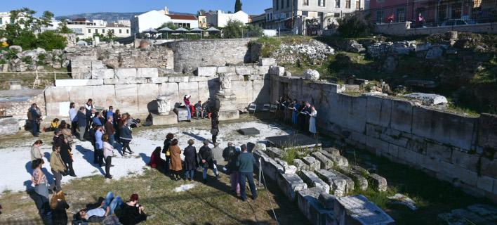 «Περιβάλλον και Πολιτισμός» στη Ρωμαϊκή Αγορά, φωτογραφία: intimenews ΧΑΛΚΙΟΠΟΥΛΟΣ ΝΙΚΟΣ