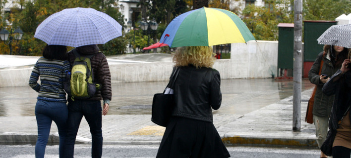 Σύννεφα και βροχή την Τρίτη -Πού θα είναι απαραίτητη η ομπρέλα