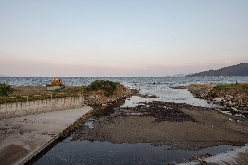Μια διαλυμμένη παραλία