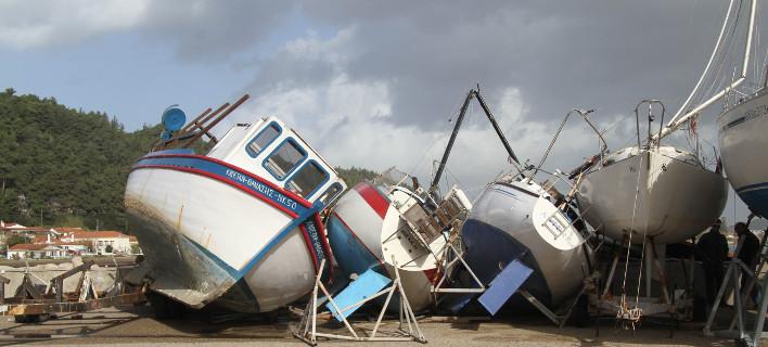 Βάρκες, φωτογραφία: EUROKINISSI/Γιάννης Σπυρούνης