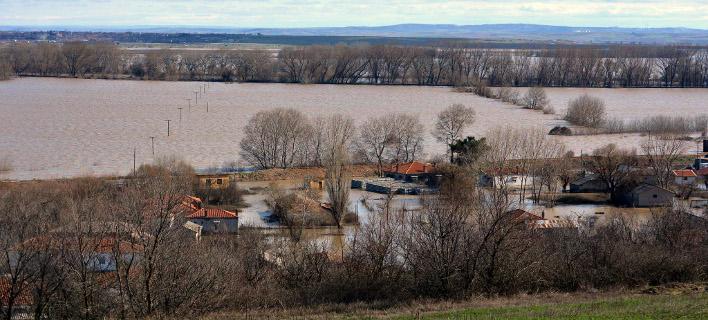 Αψήφησαν τις πλημμύρες, φωτογραφία: eurokinissi