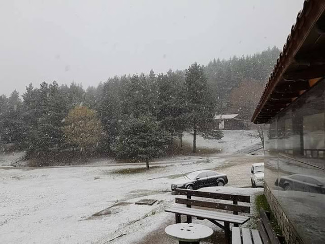 Στα «λευκά» η ορεινή Ξάνθη!Υπέροχες φωτογραφίες