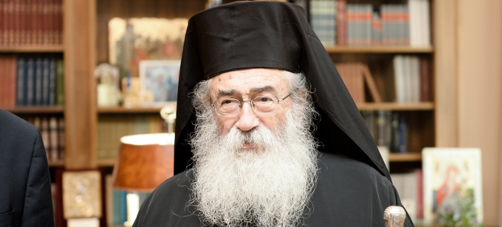 Αρχιεπίσκοπος  Σινά, Φαράν και Ραϊθούς κ. Δαμιανός  /Φωτογραφία intime news