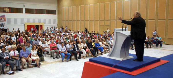 Στη ΔΕΘ ο Πρόεδρος της Ένωσης Κεντρώων Φωτογραφία: eurokinissi
