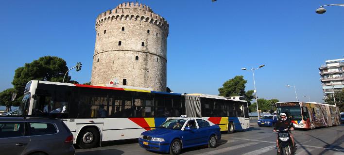Χωρις λεωφορεία σήμερα η πόλη, φωτοτογραφία: ΜΟΤΙΟΝΤΕΑΜ/ΤΡΥΨΑΝΗ ΦΑΝΗ