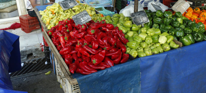Οι πιπεριές βοηθούν στη θωράκιση του οργανισμού (Φωτογραφία: EUROKINISSI/ ΧΡΗΣΤΟΣ ΜΠΟΝΗΣ)