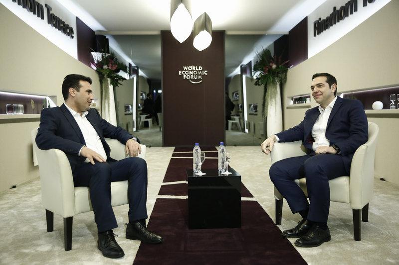 Ζάεφ: «Ηταν καθοριστική η συνάντησή μου με τον Τσίπρα στο Νταβός, ανοίξαμε τις καρδιές μας»