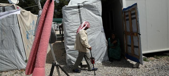 Δομές φιλοξενίας προσφύγων/ Φωτογραφία intime news