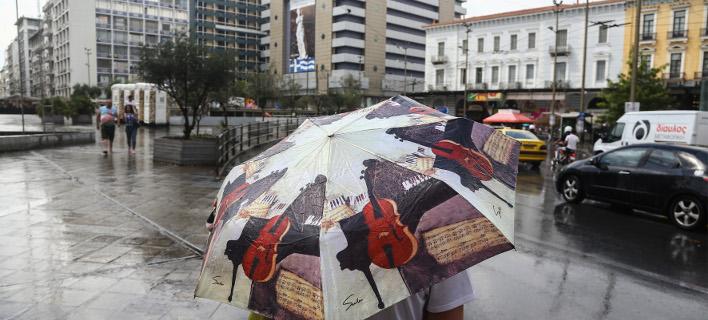Βροχές και καταιγίδες το Σάββατο/Φωτογραφία intime news