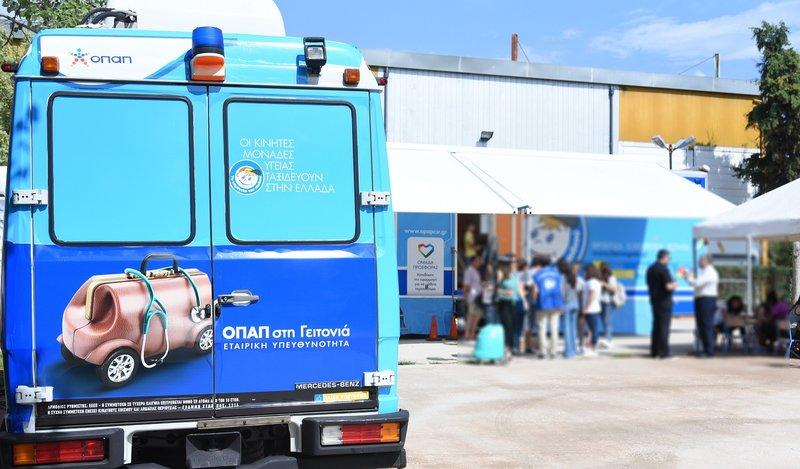 Οι κινητές μονάδες Προληπτικής Ιατρικής στο Δήμο Περιστερίου