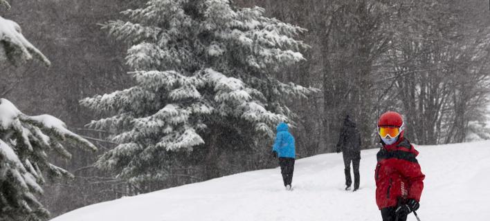 χιονοδρομικό κέντρο/Φωτογραφία: Eurokinissi