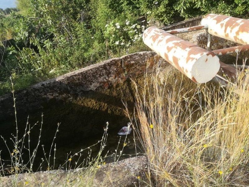 Το σημείο που βρέθηκε ο νεκρός άνδρας /Φωτογραφία agrinionews.gr