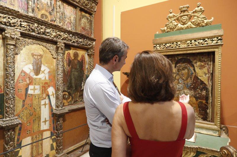 Στο βυζαντινό μουσείο