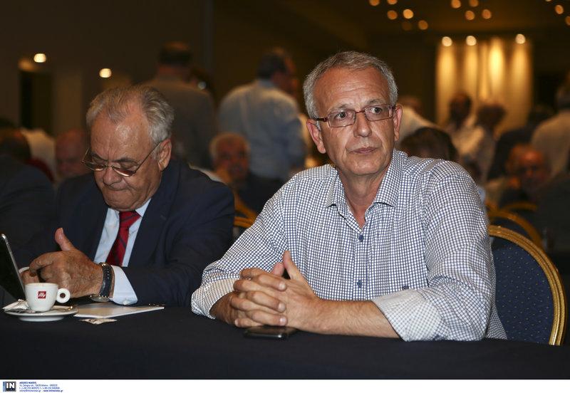 Ο απερχόμενος γραμματέας του ΣΥΡΙΖΑ Π. Ρήγας