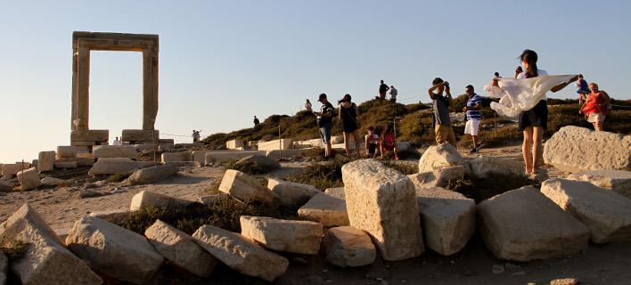 «Τα αρχαία, κομμάτι του τουρισμού», φωτογραφία: intimenews ΒΟΛΙΤΑΚΗΣ ΣΤΕΛΙΟΣ