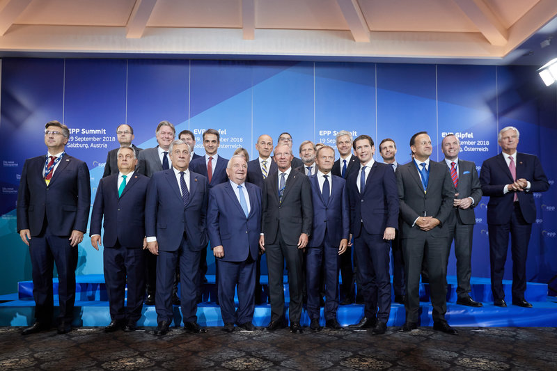 O Κυριάκος Μητσοτάκης στην σύνοδο κορυφής του ΕΛΚ /Φωτογραφία intime news