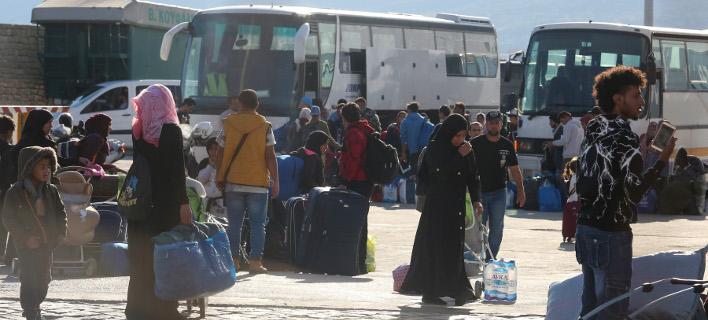 Μετανάστες Μόρια/ Φωτογραφία AP images
