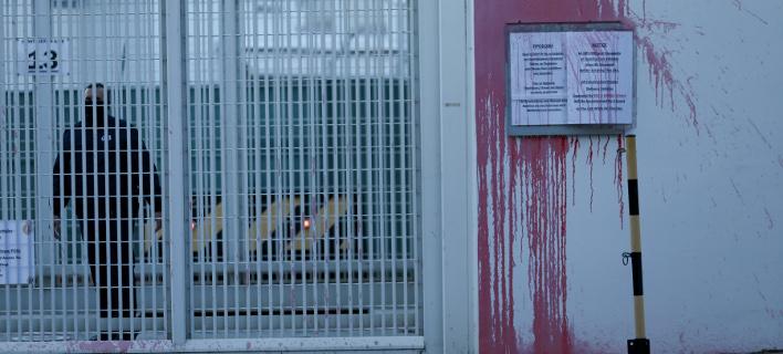 Βανδαλισμοι στην Πρεσβεία των ΗΠΑ, φωτογραφία: intimenews ΛΙΑΚΟΣ ΓΙΑΝΝΗΣ