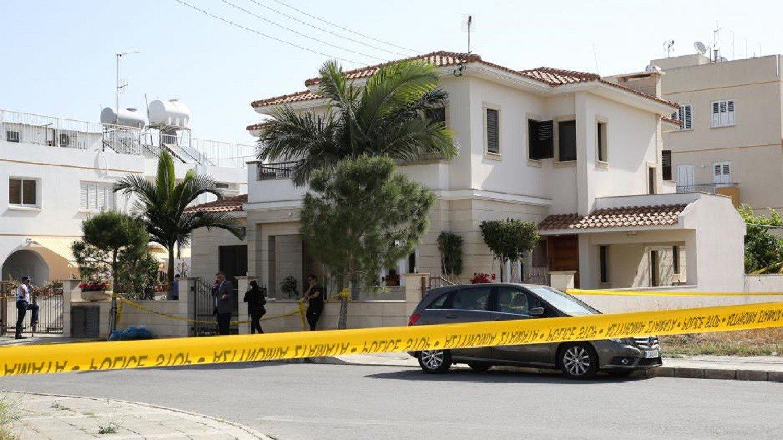 Το σπίτι της οικογένειας όπου έγινε ο φόνος