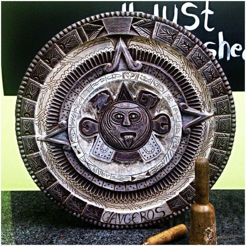 Το ημερολόγιο των Αζτέκων εξολοκλήρου από σοκολάτα!
