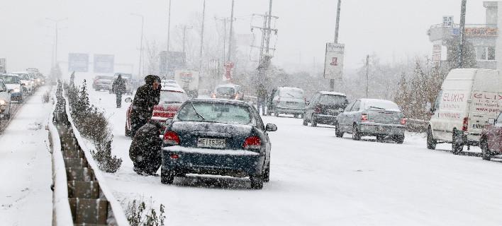 Χιόνια: φωτογραφία: ΜΟΤΙΟΝΤΕΑΜ/ΤΡΥΨΑΝΗ ΦΑΝΗ