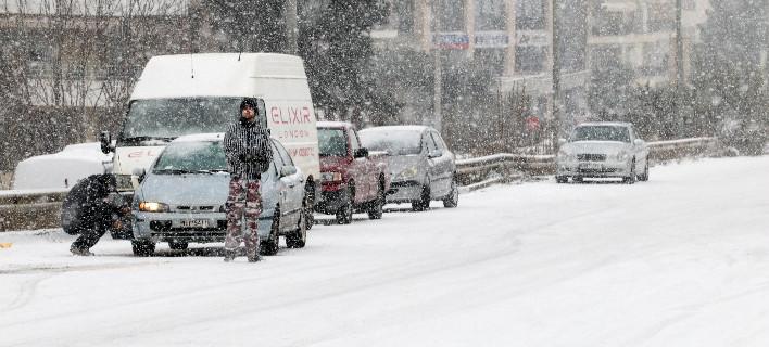 Χιόνια, φωτογραφία: ΜΟΤΙΟΝΤΕΑΜ/ΤΡΥΨΑΝΗ ΦΑΝΗ