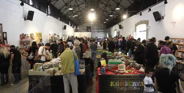 Φεβρουάριος στην Τεχνόπολη: Με Vinyl Market και Κινέζικη πρωτοχρονιά [εικόνες]