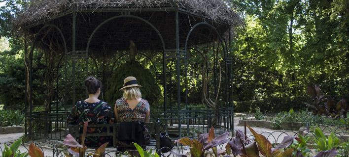 Πρόγραμμα «Ζήσε τον κήπο και τα πάρκα αλλιώς», φωτογραφία: eurokinissi