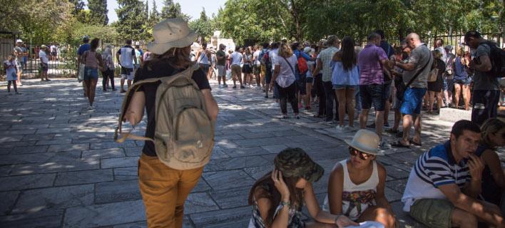 Ουρές για την Ακρόπολη, Φωτογραφία: eurokinissi