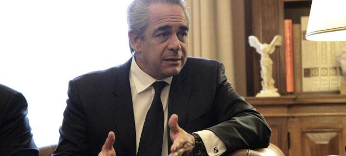 Ο Πρόεδρος της ΚΕΕ και του ΕΒΕΑ, Κωνσταντίνος Μίχαλος, φωτογραφία: eurokinissi