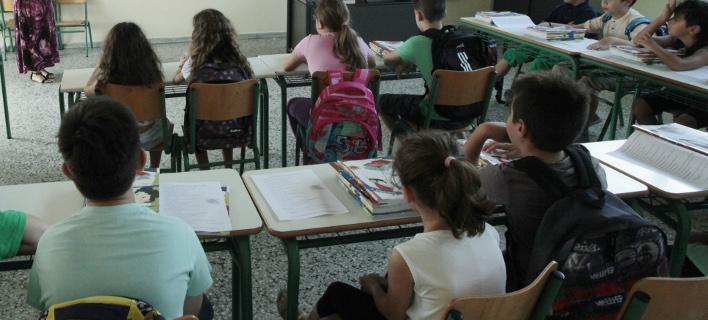 Μαθητές, φωτογραφία: ΧΡΗΣΤΟΣ ΜΠΟΝΗΣ//EUROKINISSI