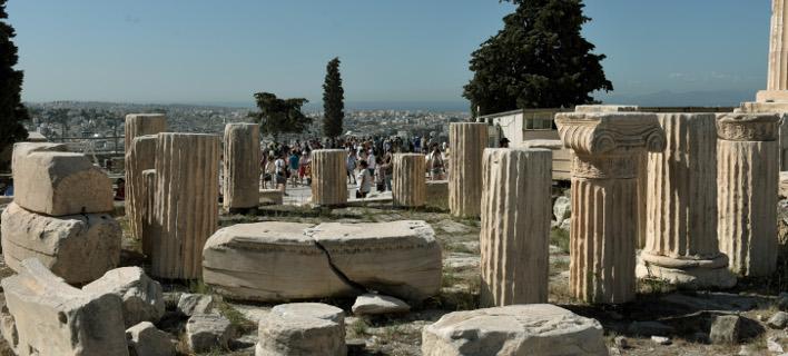 8:00-19:00 το ωράριο των αρχαιολογικών χώρων, φωτογραφία αρχείου: eurokinissi