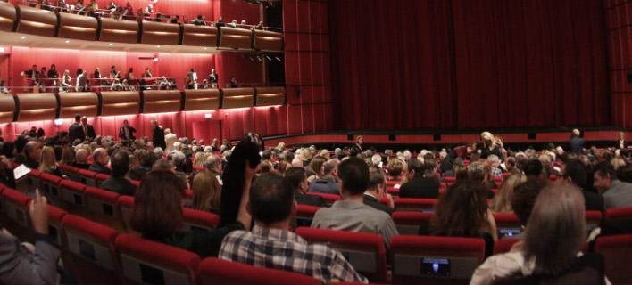 Πρόβα με θεατές, φωτογραφία: EUROKINISSI/ΓΙΑΝΝΗΣ ΠΑΝΑΓΟΠΟΥΛΟΣ
