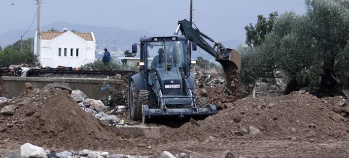 Αποκαταστάθηκε ηλεκτρικό, νερό και τηλέφων,  Φωτογραφία: eurokinissi